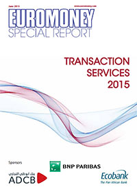 Euromoney special report: Transaction services 2015